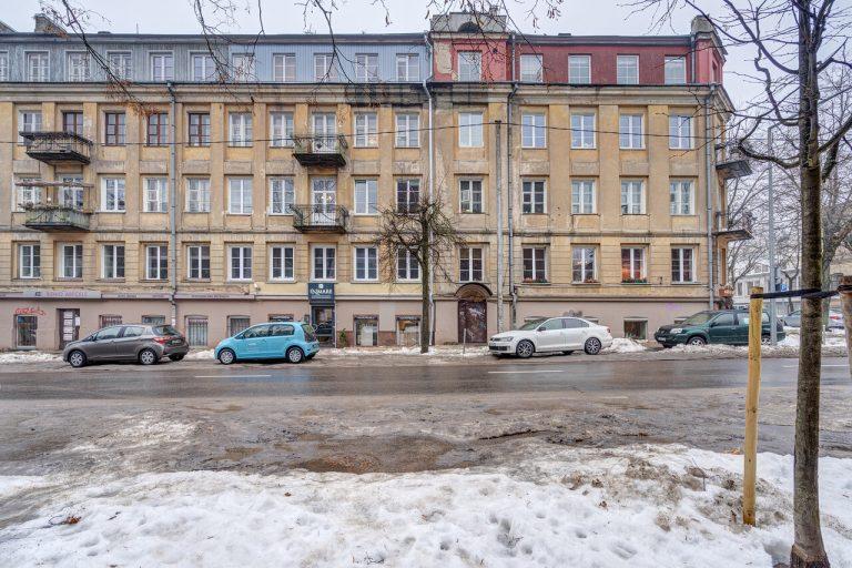 3 k. 66.65 kv. m butas Mindaugo g., Vilniuje